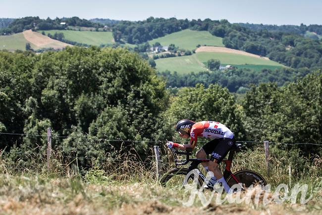 Jens Keukeleire (BEL/Lotto Soudal)<br /> <br /> Stage 13: ITT - Pau to Pau (27.2km)<br /> 106th Tour de France 2019 (2.UWT)<br /> <br /> ©kramon