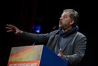 Roma, 1 Dicembre 2018<br /> Sandro Metz, Mediterranea.<br /> Il Sindaco di Napoli lancia a Roma nel Teatro Italia &quot;Oltre le disuguaglianze&quot; , una nuova coalizione dei Popoli