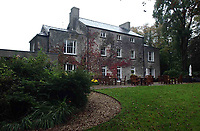 Pictured: The Fairyhill Hotel, in Reynoldston, Wales, UK.<br /> Re: A tweet by a popular wedding venue, advertising for &ldquo;slightly OCD&rdquo; staff has been criticised by mental health campaigners.<br /> Fairyhill in the village of Reynoldston, Gower, which is owned by the Oldwalls group, advertised various jobs at their venue on Twitter.<br /> The advertisment includes an image of laid out plates and cutlery which are not straight with the caption &ldquo;Slightly OCD? Then we&rsquo;d like to hear from you&rdquo;.<br /> The social media post has been met with a number of angry comments from users calling for the venue to reconsider their advert, calling it &ldquo;disgusting&rdquo; and &ldquo;inappropriate&rdquo;.<br /> One user responded: &ldquo;I do have OCD. It&rsquo;s got nothing to do with liking my cutlery straight, though.<br /> &ldquo;It&rsquo;s more about distressing and intrusive thoughts of horrific self-harm and unbearable anxiety that my partner will die. So you might want to reconsider that advert.&rdquo;<br /> For many years Fairyhill was a popular destination for tourists and diners on the Gower before becoming an exclusive wedding venue. It recently underwent a &pound;1 million refurbishment.