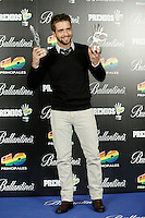 Pablo Alboran attends 40 Principales awards photocall of winners  2012 at Palacio de los Deportes in Madrid, Spain. January 25, 2013. (ALTERPHOTOS/Caro Marin) /NortePhoto