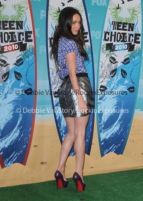 Megan Fox at Fox Teen Choice 2010 Awards held at he Universal Ampitheatre in Universal City, California on August 08,2010                                                                                      Copyright 2010 © DVS / RockinExposures