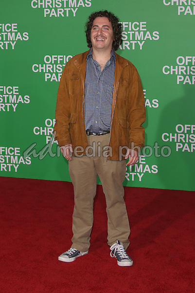 """07 December 2016 - Westwood, California - Oliver Cooper.  """"Office Christmas Party"""" Paramount Pictures Los Angeles Premiere held at Regency Village Theatre. Photo Credit: F. Sadou/AdMedia"""