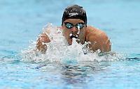 """Trofeo """"Sette Colli"""" di nuoto al Foro Italico, Roma, 8 giugno 2008..""""Seven Hills"""" swimming trophy at Rome's Foro Italico, 8 june 2008..200 meters medley men: Italy's Liam Tancock..UPDATE IMAGES PRESS/Riccardo De Luca"""