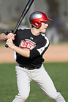 January 16, 2010:  Evan Folden (Battle Ground, WA) of the Baseball Factory Northwest Team during the 2010 Under Armour Pre-Season All-America Tournament at Kino Sports Complex in Tucson, AZ.  Photo By Mike Janes/Four Seam Images