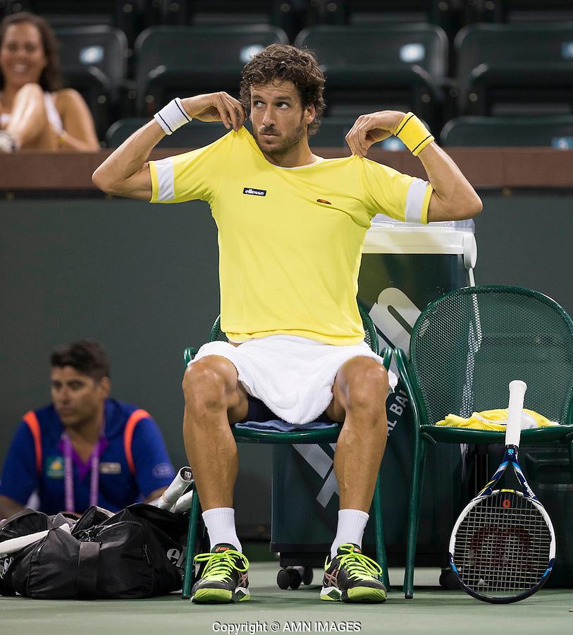FELICIANO LOPEZ (ESP)<br /> <br /> Tennis - BNP PARIBAS OPEN 2015 - Indian Wells - ATP 1000 - WTA Premier -  Indian Wells Tennis Garden  - United States of America - 2015<br /> &copy; AMN IMAGES