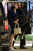 Washington, DC - August 6, 1998 -- Monica Lewinsky arrives at U.S. District Court this morning to testify before the Grand Jury investigating her alleged affair with President Clinton..Credit: Ron Sachs / CNP
