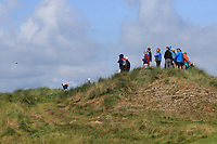 Ronan Mullarney (Galway) on the 14th tee during Matchplay Semi-Finals of the AIG Irish Amateur Close Championship 2019 in Ballybunion Golf Club, Ballybunion, Co. Kerry on Wednesday 7th August 2019.<br /> <br /> Picture:  Thos Caffrey / www.golffile.ie<br /> <br /> All photos usage must carry mandatory copyright credit (© Golffile | Thos Caffrey)