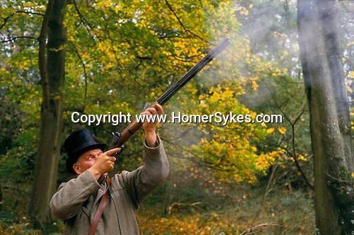 BLACK POWDER SHHOT PRIVATE ESTATE WILTSHIRE ENGLAND