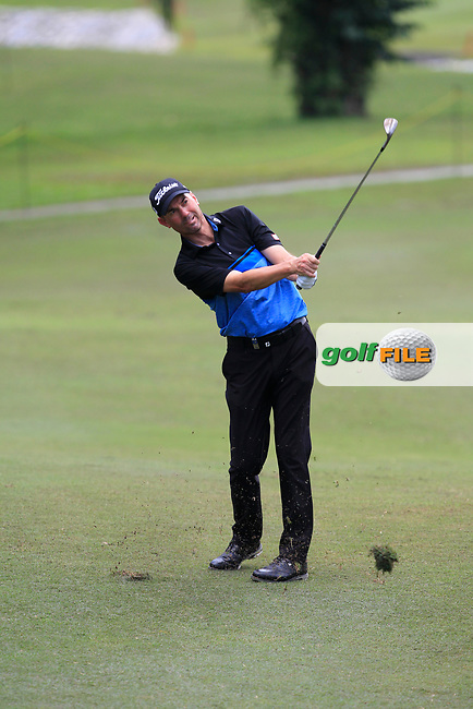 Jason Norris (AUS) in action on the 6th during Round 1 of the Maybank Championship at the Saujana Golf and Country Club in Kuala Lumpur on Thursday 1st February 2018.<br /> Picture:  Thos Caffrey / www.golffile.ie<br /> <br /> All photo usage must carry mandatory copyright credit (© Golffile | Thos Caffrey)