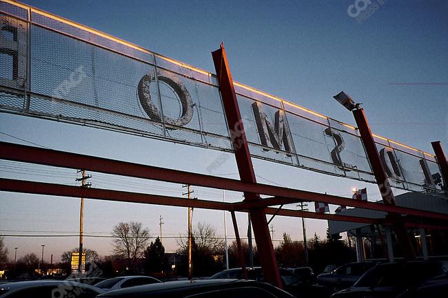 Oldsmobile Story concession, Lansing, Michigan, USA, February 2001