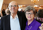 SOUTHINGTON CT. 06 June 2017-060617SV25-George and Pat Crowley of Farmington attend The 32nd Annual Franciscan Sports Banquet &amp; Silent Auction at the Aqua Turf in Southington Tuesday.<br /> Steven Valenti Republican-American