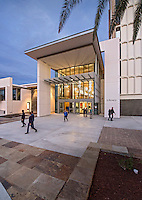 Images of the new Davidson Library Expansion Buildings and entrance