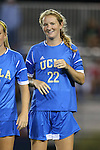 06 September 2013: UCLA's Samantha Mewis. The University of North Carolina Tar Heels played the University of California Los Angeles Bruins at Koskinen Stadium in Durham, NC in a 2013 NCAA Division I Women's Soccer match. UNC won the game 1-0.