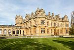 Westonbirt House and School, Tetbury, Gloucestershire, England, UK designed by Lewis Vulliamy built 1863-1870