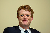 United States Representative Joe Kennedy III (Democrat of Massachusetts) participates in a round table regarding sexual trauma in the United States military on Capitol Hill in Washington D.C., U.S. on July 11, 2019.<br /> <br /> Credit: Stefani Reynolds / CNP