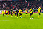 09.11.2019, Allianz Arena, Muenchen, GER, 1.FBL,  FC Bayern Muenchen vs. Borussia Dortmund, DFL regulations prohibit any use of photographs as image sequences and/or quasi-video, im Bild der BVB enttaeuscht<br /> <br />  Foto © nordphoto / Straubmeier
