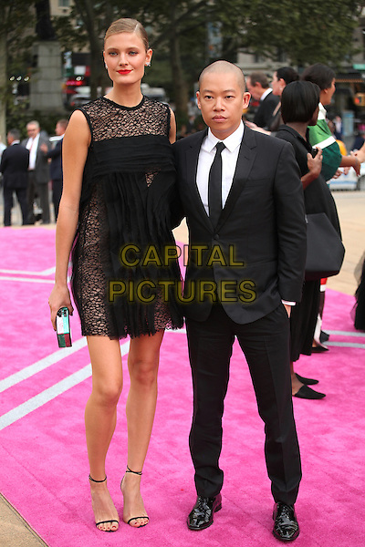 NEW YORK, NY - SEPTEMBER 20: Constance Jablonski  and Jason Wu attend New York City Ballet 2016 Fall Gala at David H. Koch Theater on September 20, 2016 in New York City. <br /> CAP/MPI99<br /> &copy;MPI99/Capital Pictures