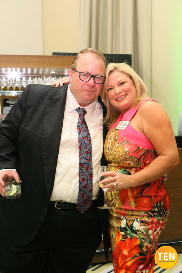 T.E.N. and Marci McCarthy hosted the ISE® Lions' Den & Jungle Lounge 2015 at the Vdara Hotel in Las Vegas, Nevada on August 5, 2015.<br />