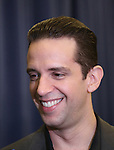 """Nick Cordero during the photocell for """"A Bronx Tale - The New Musical""""  at the New 42nd Street Studios on October 21, 2016 in New York City."""