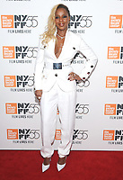 "NEW YORK, NY - OCTOBER 12: Mary J. Blige attends the 55th NYFF World Premiere of ""Mudbound"" at Alice Tully Hall on October 12, 2017 in New York City. Photo Credit: John Palmer/MediaPunch"