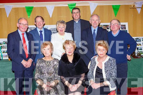 front row: Joan Fogarty, Joan Culloty, Mary Regan. Back row: Tommy Regan,  Johnny Culloty, Maura Fitzgerald, Fr Jim Linehan, Eamon Fitzgerald, Donal Hegarty at the Legion GAA social in the Killarney Avenue Hotel on Friday night