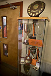 Euxton Villa 1 Haslingden St. Mary's 1, 13/02/2010. Jim Fowler Memorial Ground, West Lancashire Football League. A cabinet of trophies won by Euxton Villa pictured in the clubhouse on the day the club take on visitors Haslingden St. Mary's in a West Lancashire Football League fixture at the Jim Fowler Memorial ground in Euxton, near Chorley. The game ended in a one-all draw. The league was formed in 1904, although 1905-06 was the first season and sits at step seven of the pyramid system. Photo by Colin McPherson.