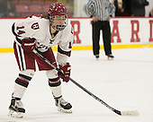 Kate Hallett (Harvard - 14) - The visiting Boston College Eagles defeated the Harvard University Crimson 2-0 on Tuesday, January 19, 2016, at Bright-Landry Hockey Center in Boston, Massachusetts.