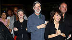 Charlotte d'Amboise, Terrence Mann & Andrea Martin with guests attending the Broadway Opening Night Gypsy Robe Ceremony honoring Stephanie Pope for 'Pippin' at the Music Box Theatre in New York City on 4/25/2013