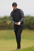 Lucas Bjerregaard (DEN) on the 15th fairway during Round 4 of the Alfred Dunhill Links Championship 2019 at St. Andrews Golf CLub, Fife, Scotland. 29/09/2019.<br /> Picture Thos Caffrey / Golffile.ie<br /> <br /> All photo usage must carry mandatory copyright credit (© Golffile | Thos Caffrey)