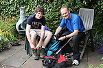 John and Sean Doherty getting ready for their hikes..(Photo credit should read Jenny Matthews www.newsfile.ie)....This Picture has been sent you under the conditions enclosed by:.Newsfile Ltd..The Studio,.Millmount Abbey,.Drogheda,.Co Meath..Ireland..Tel: +353(0)41-9871240.Fax: +353(0)41-9871260.GSM: +353(0)86-2500958.email: pictures@newsfile.ie.www.newsfile.ie.