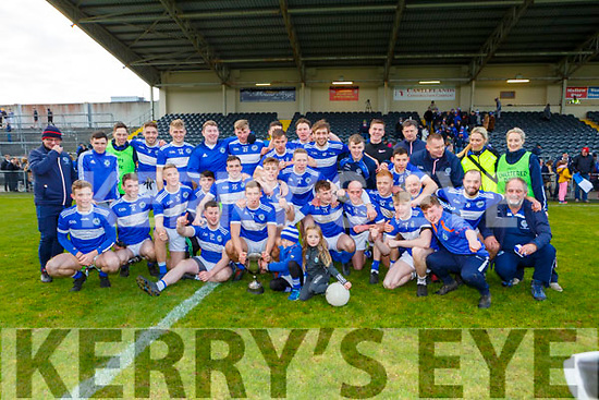 Templenoes team celebrate winning the  Munster Intermediate Championship final against St Breckan's in Mallow on Sunday