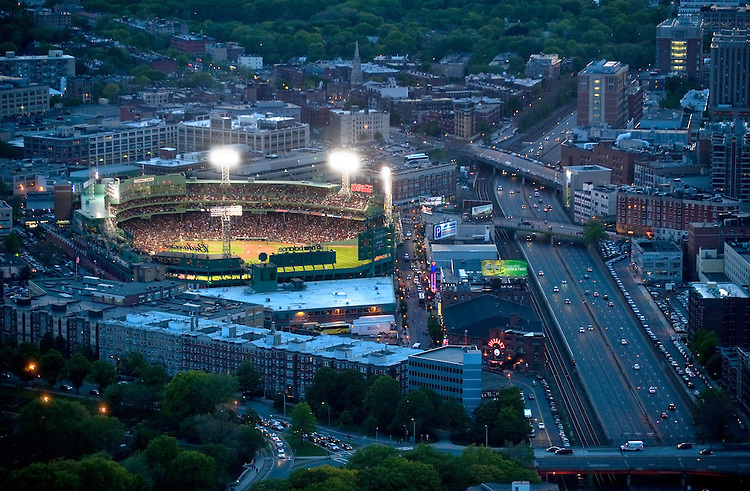 The Boston Red Sox host Cleveland at Fenway Park in Boston, Mass., on Friday, May 11, 2012.