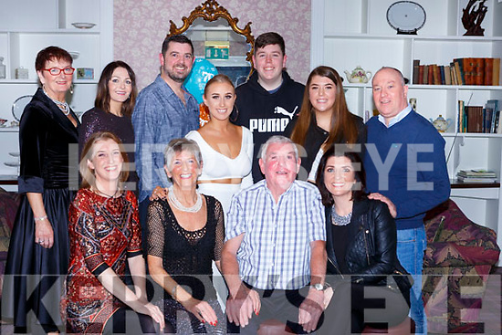 Palm Brosnan Woodlawn Park Killarney celebrated her 70th birthday with her family in the Dromhall Hotel on Saturday night