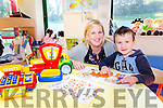 Siobhan Carmody manager Danú childcare Rathmore with Denis Donnelly