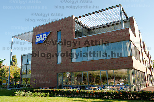 SAP portrait shooting at SAP Hungary Headquarters in Graphisoft Park, Budapest, Hungary on September 06, 2011. ATTILA VOLGYI