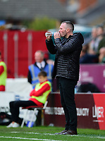 Lincoln City manager Michael Appleton<br /> <br /> Photographer Andrew Vaughan/CameraSport<br /> <br /> The EFL Sky Bet League One - Lincoln City v Sunderland - Saturday 5th October 2019 - Sincil Bank - Lincoln<br /> <br /> World Copyright © 2019 CameraSport. All rights reserved. 43 Linden Ave. Countesthorpe. Leicester. England. LE8 5PG - Tel: +44 (0) 116 277 4147 - admin@camerasport.com - www.camerasport.com