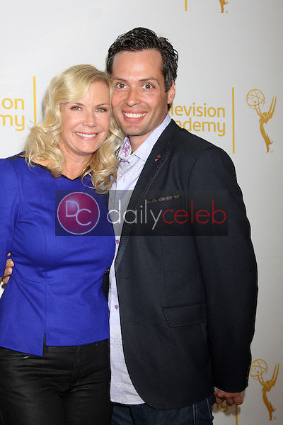 LOS ANGELES - JUN 19:  Katherine Kelly Lang at the ATAS Daytime Emmy Nominees Reception at the London Hotel on June 19, 2014 in West Hollywood, CA