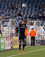 New England Revolution defender Kevin Alston (30). In a Major League Soccer (MLS) match, Real Salt Lake defeated the New England Revolution, 2-0, at Gillette Stadium on April 9, 2011.