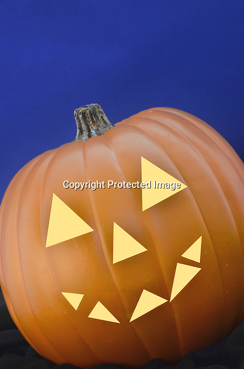 Stock photo of a Halloween Pumpkin