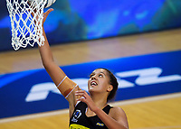 Aliyah Dunn in action during the ANZ Premiership netball match between the Central Pulse and Northern Stars at Te Rauparaha Arena in Wellington, New Zealand on Wednesday, 3 April 2019. Photo: Dave Lintott / lintottphoto.co.nz