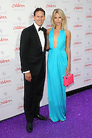 Brendan Cole, Zoe Hobbs at the 2015 Butterfly Ball, in aid of the Caudwell Children Charity, at the Grosvenor House Hotel. <br /> June 25, 2015  London, UK<br /> Picture: James Smith / Featureflash