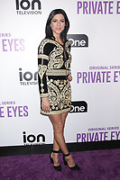 NEW YORK, NY - FEBRUARY 8: Cindy Sampson  at  ION Television Private Eyes Launch Event at  Cedar Lake NYC  on February 8, 2018 in New York City. <br /> CAP/MPI99<br /> &copy;MPI99/Capital Pictures
