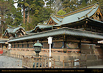 Honden Main Hall Karamon Arched Gable Gate Tozai Sukibe Roofed Transparent Wall Honsha Central Shrine Nikko Toshogu Shrine Nikko Japan