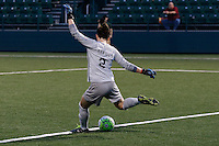 Rochester, NY - Friday May 27, 2016: Boston Breakers goalkeeper Jami Kranich (2). The Western New York Flash defeated the Boston Breakers 4-0 during a regular season National Women's Soccer League (NWSL) match at Rochester Rhinos Stadium.