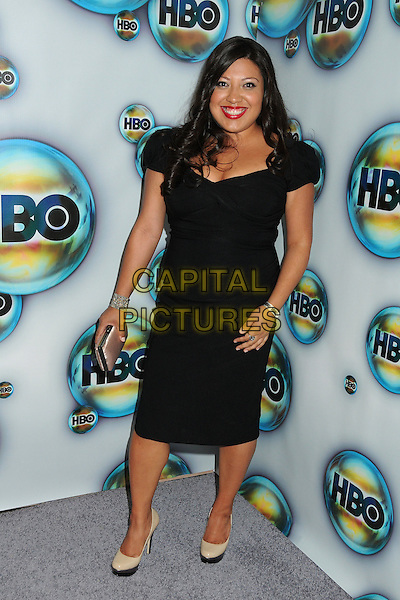 Lisa De Razzo.HBO 2012 Golden Globe Awards Post Party held at Circa 55 Restaurant, Beverly Hills, California, USA..January 15th, 2012.globes full length black dress.CAP/ADM/BP.©Byron Purvis/AdMedia/Capital Pictures.