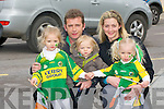 FAMILY The Conway family from Causeway enjoying the Causeway St Patricks Day Parade in Causeway, L-r: Grace,Dan,Lucas,Amy and Steph Conway....................................... .. .............................................................. ....................