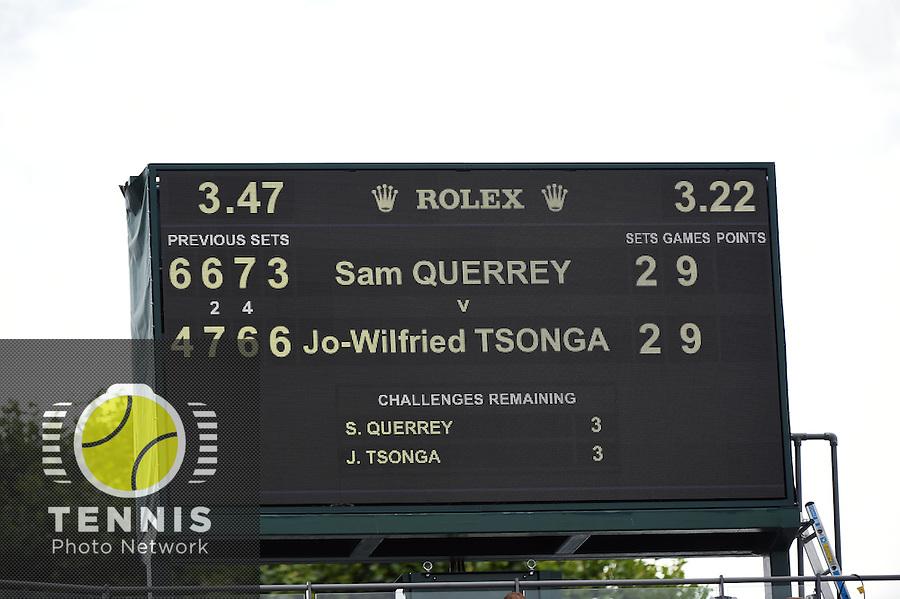 Wimbledon, 26/6/2014<br /> <br /> Photo &copy; Ray Giubilo