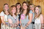 SWEET SIXTEEN: Rebecca Hawkins, Hawley park, Tralee enjoying a great time celebrating her 16th birthday at La Scala's restaurant on Saturday l-r: Chole Sheridan, Sarah Fitzgerald, Jennifer Twomey, Rebecca Hawkins, Aisling Spillane and Ashley Delaney.