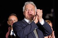 A Fidesz eredm&eacute;nyv&aacute;r&oacute;ja a v&aacute;laszt&aacute;sok &eacute;jszak&aacute;j&aacute;n.A k&eacute;pen Semj&eacute;n Zsolt.<br /> 2018.04.08.<br /> Fot&oacute;:V&ouml;r&ouml;s Szil&aacute;rd