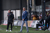 Carlisle manager Keith Curle during the Sky Bet League 2 match between Newport County and Carlisle United at Rodney Parade, Newport, Wales on 12 November 2016. Photo by Mark  Hawkins.